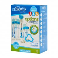 Dr. Brown's - Gift Set Options Bottle - Standaard hals - Blauwe