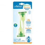Dr. Brown's Options+ - Replacement kit brede halsfles 270ml