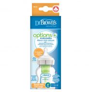 Dr. Brown's Options+ - Brede halsfles 150ml