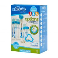 Dr. Brown's - Standaard halsfles - Options+ - Gift Set - Blauw